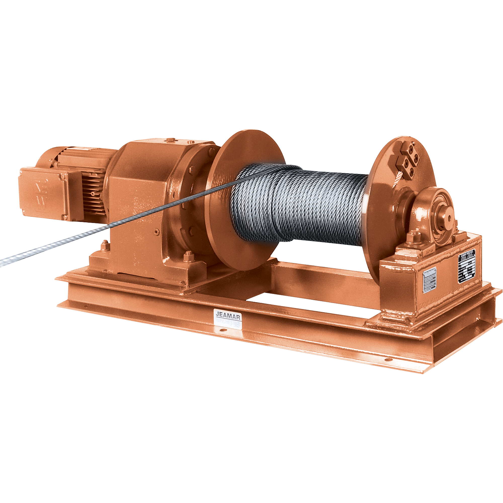 Electric or manual winches